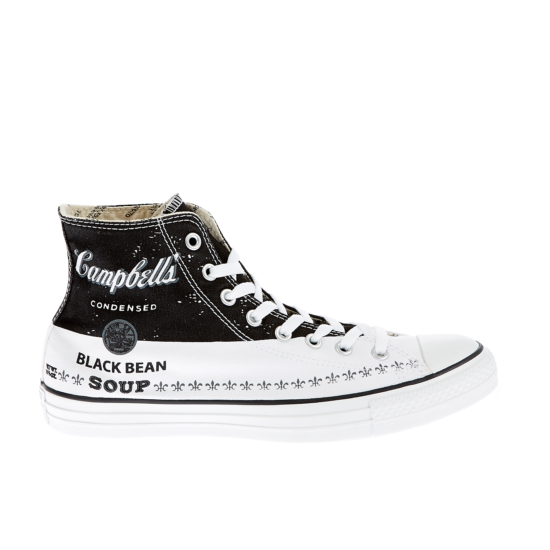 CONVERSE - Unisex παπούτσια Chuck Taylor λευκά-μάυρα γυναικεία παπούτσια sneakers