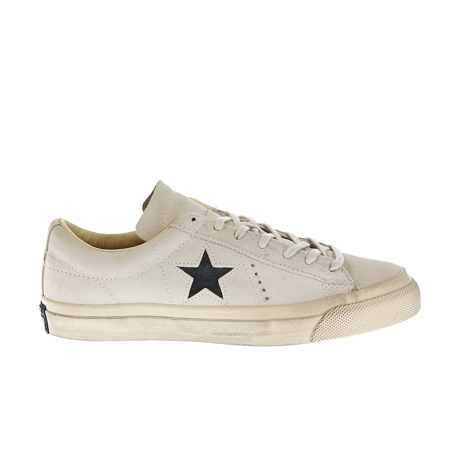 CONVERSE - Unisex παπούτσια One Star Burnished μπεζ γυναικεία παπούτσια sneakers