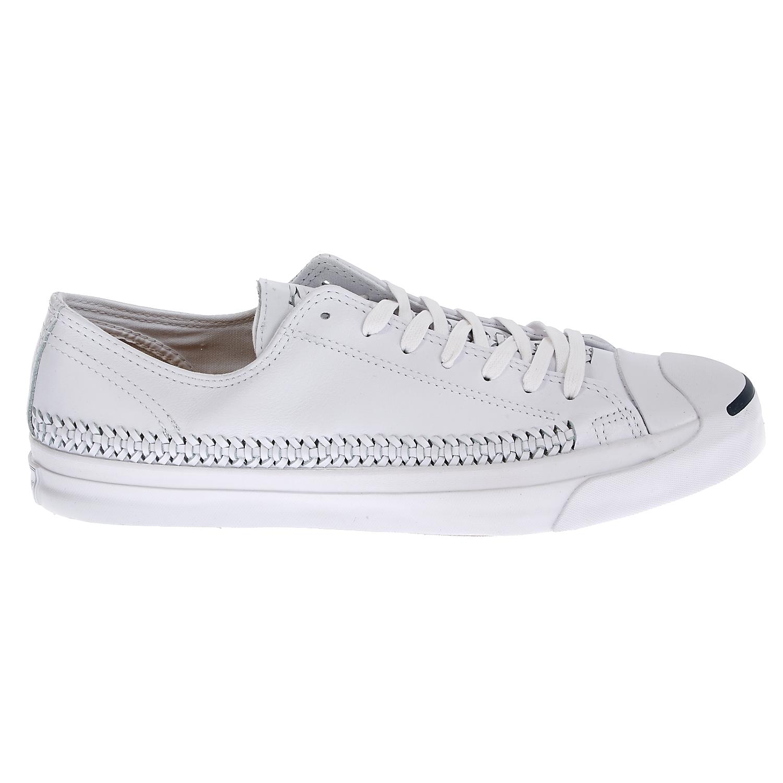 CONVERSE - Unisex παπούτσια Jack Purcell Jack Woven λευκά γυναικεία παπούτσια sneakers