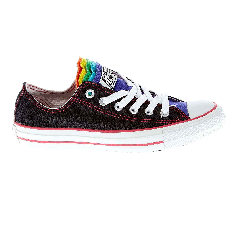 CONVERSE - Γυναικεία παπούτσια Chuck Taylor μαύρα γυναικεία παπούτσια sneakers