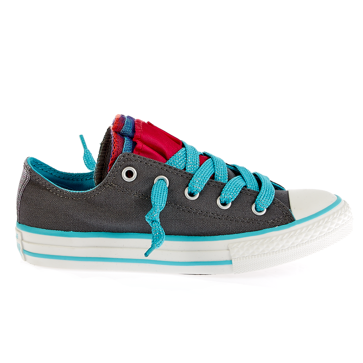 CONVERSE – Παιδικά παπούτσια Chuck Taylor ανθρακί
