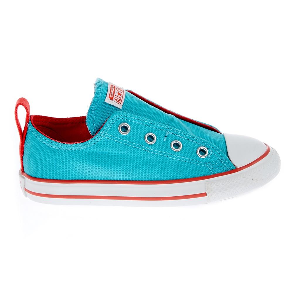CONVERSE – Βρεφικά παπούτσια Chuck Taylor τυρκουάζ