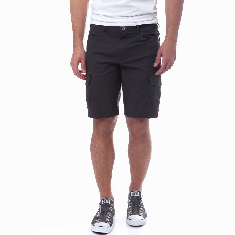 HELLY HANSEN - Ανδρική βερμούδα Helly Hansen ανθρακί ανδρικά ρούχα σορτς βερμούδες casual jean