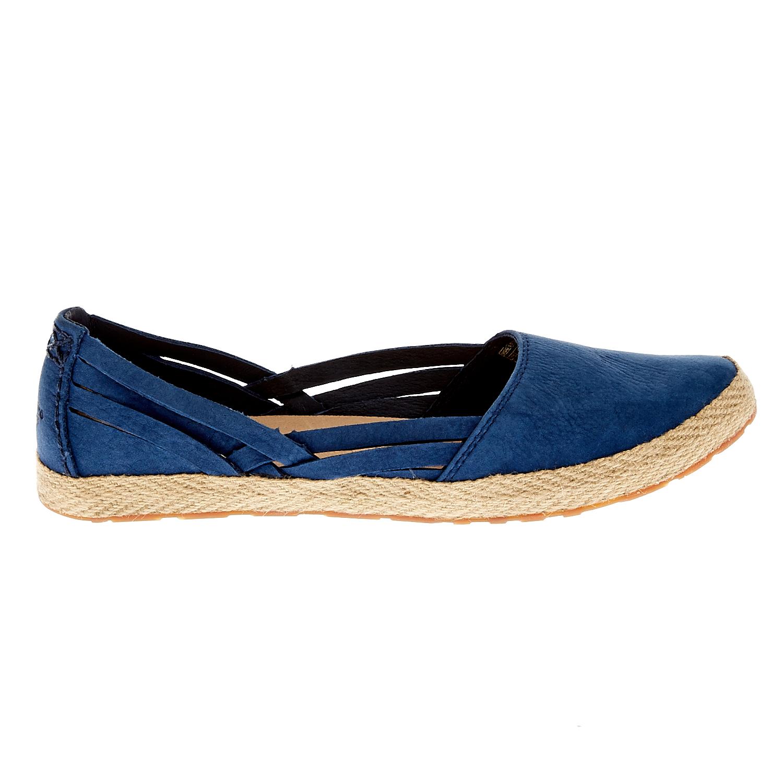 UGG AUSTRALIA - Γυναικείες μπαλαρίνες Ugg Australia μπλε γυναικεία παπούτσια μοκασίνια μπαλαρίνες μπαλαρίνες