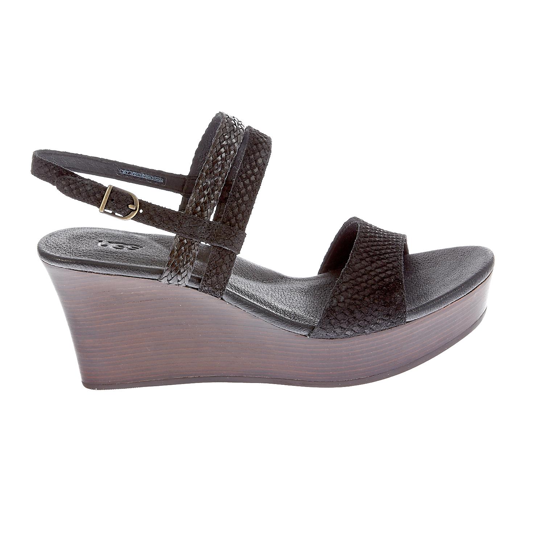 UGG AUSTRALIA - Γυναικείες πλατφόρμες Ugg Australia μαύρες γυναικεία παπούτσια πλατφόρμες