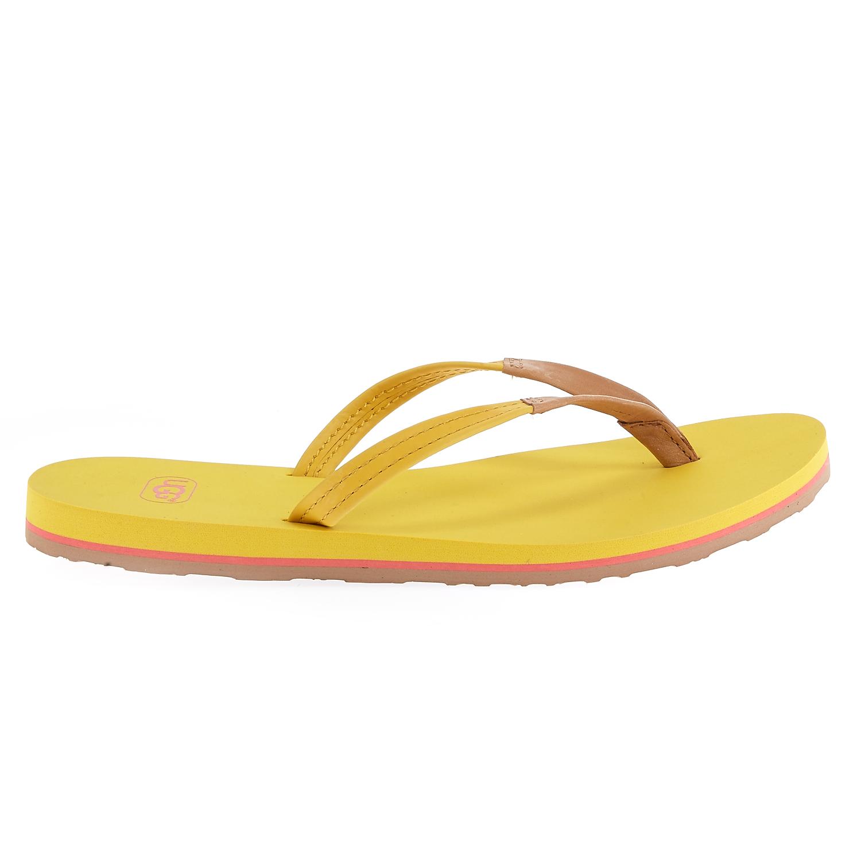 UGG AUSTRALIA – Γυναικείες σαγιονάρες Ugg Australia κίτρινες
