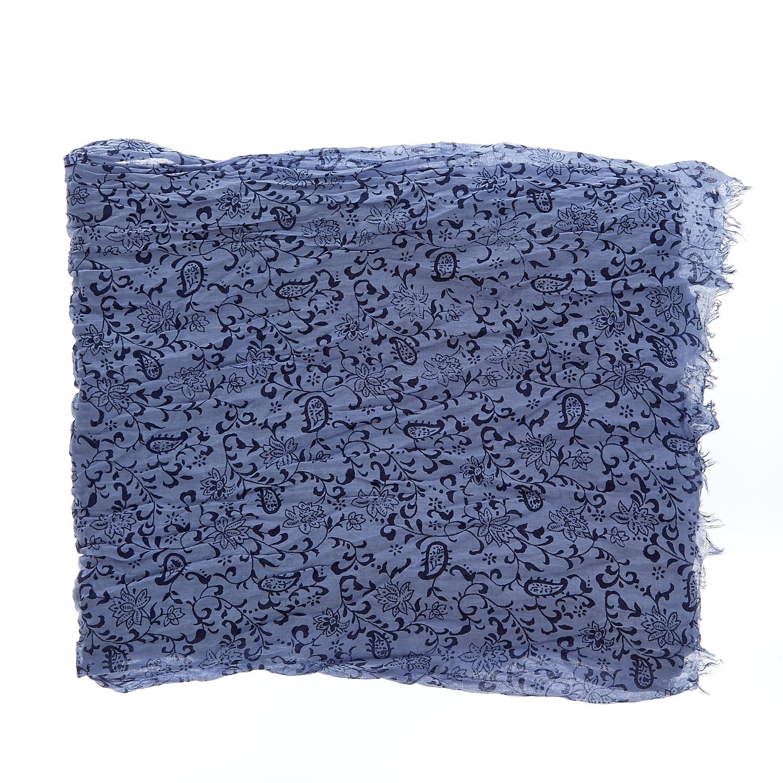 GAS - Φουλάρι Gas μπλε ανδρικά αξεσουάρ φουλάρια κασκόλ γάντια