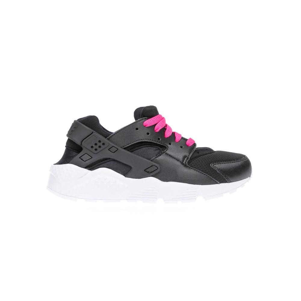 NIKE – Αθλητικά παιδικά παπούτσια NIKE HUARACHE RUN (GS) μαύρα
