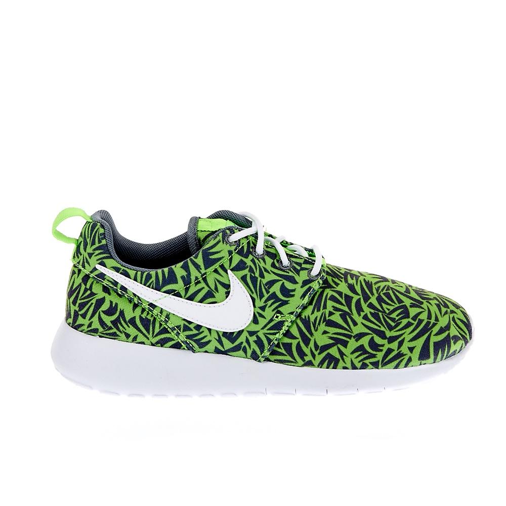NIKE – Παιδικά παπούτσια NIKE ROSHE ONE PRINT (GS) πράσινα