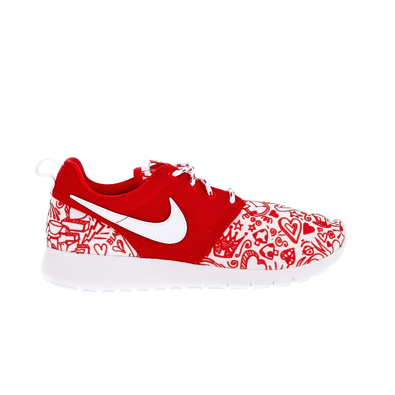 NIKE – Παιδικά αθλητικά παπούτσια NIKE ROSHE ONE PRINT κόκκινα