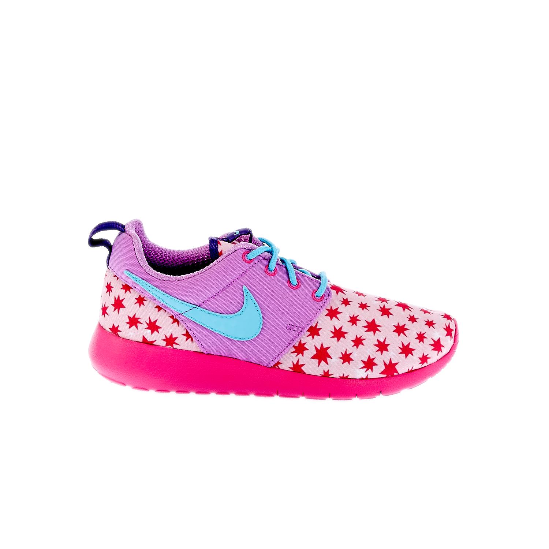 NIKE – Παιδικά παπούτσια NIKE ROSHE ONE PRINT (GS) φούξια