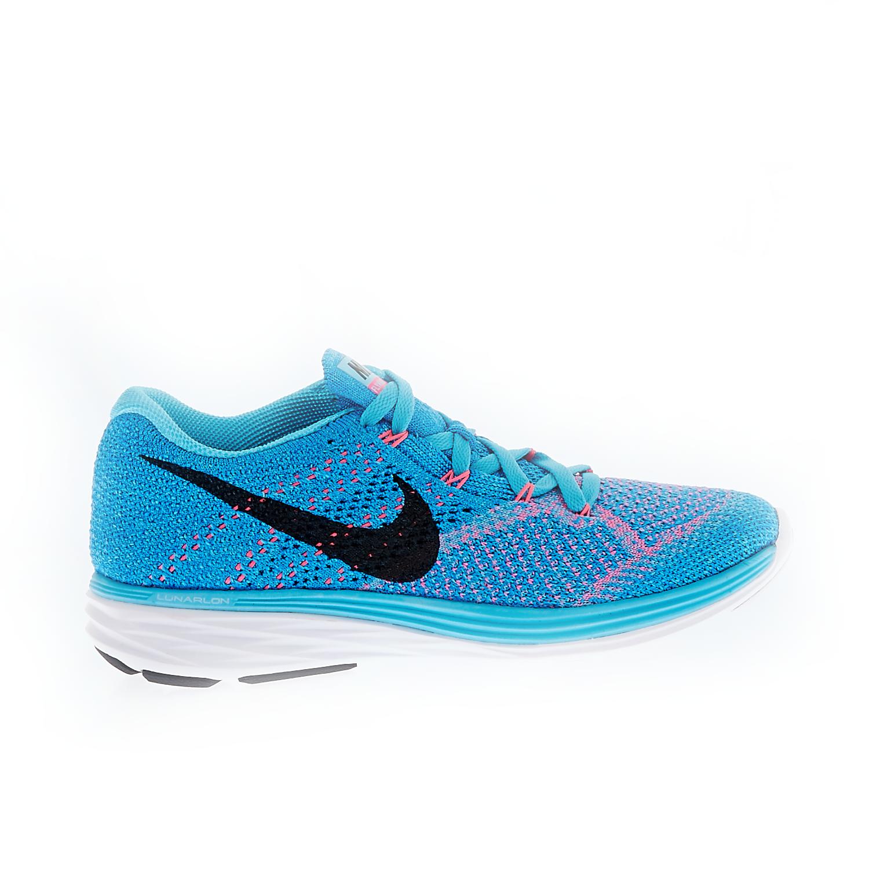 NIKE – Γυναικεία παπούτσια NIKE FLYKNIT LUNAR3 μπλε