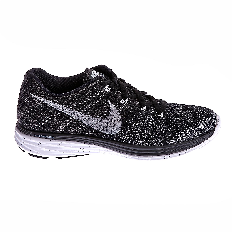 NIKE - Γυναικεία παπούτσια NIKE FLYKNIT LUNAR3 μαύρα