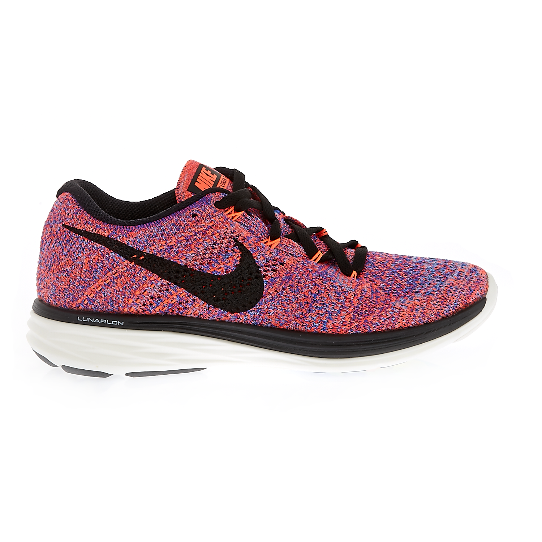 NIKE - Γυναικεία παπούτσια NIKE FLYKNIT LUNAR3 ροζ-μωβ
