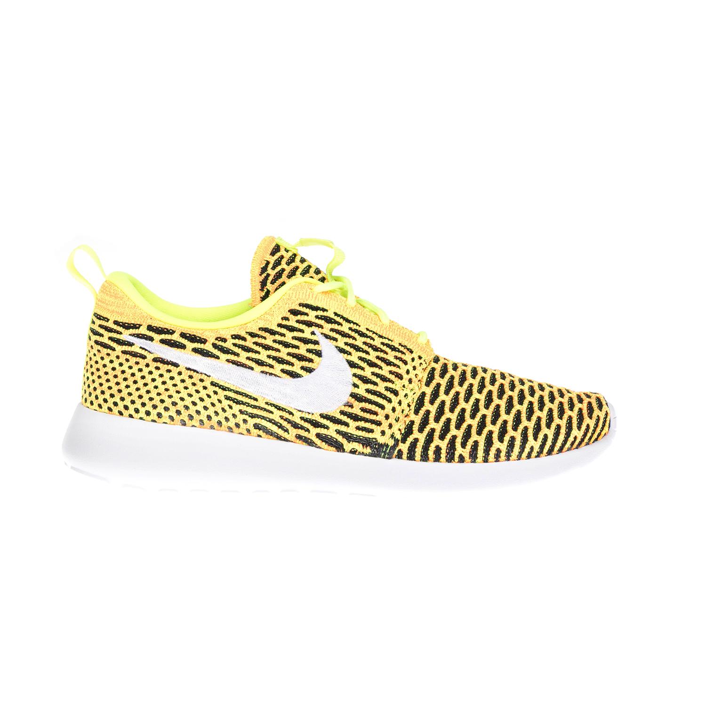 NIKE – Γυναικεία αθλητικά παπούτσια NIKE ROSHE ONE FLYKNIT κίτρινα