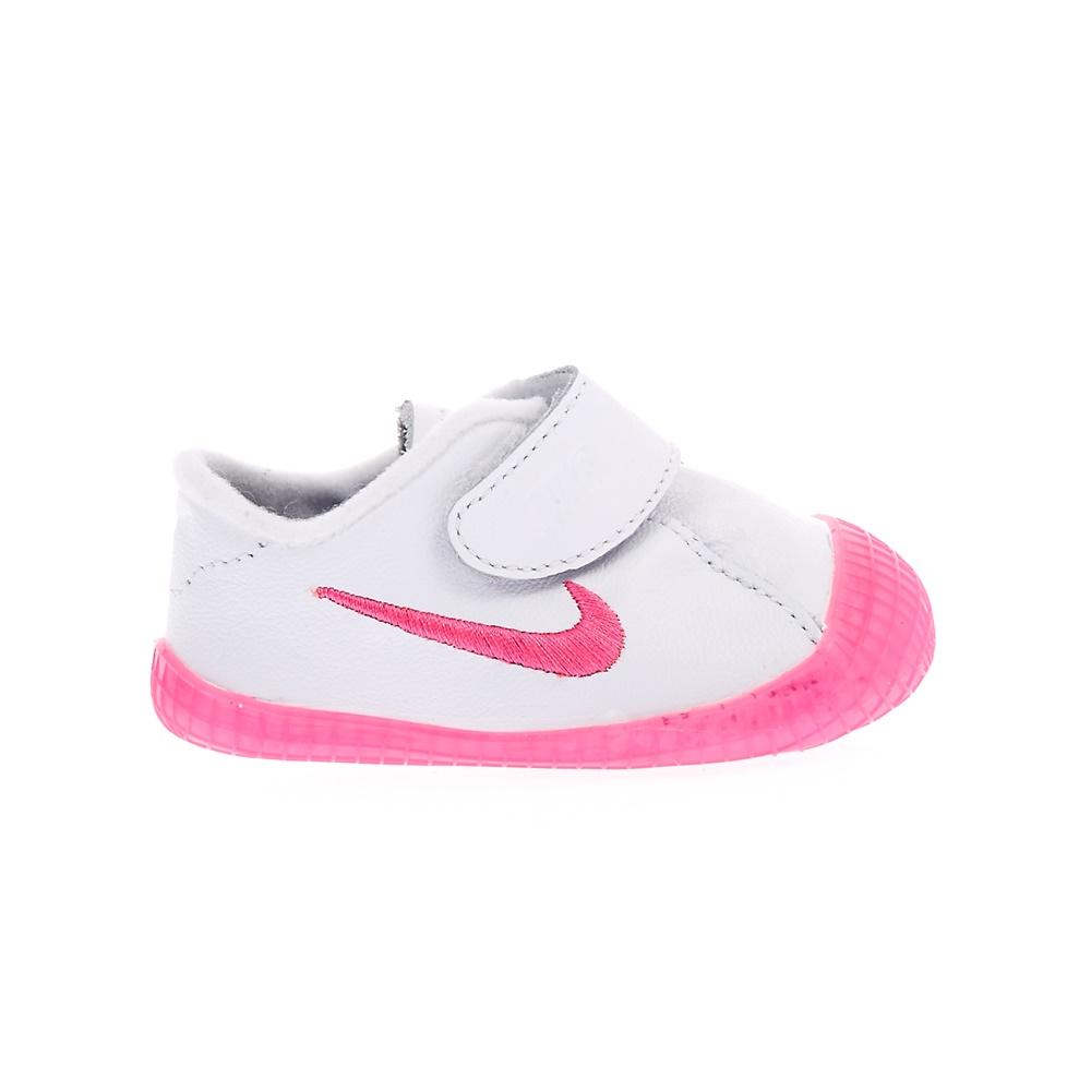 NIKE – Βρεφικά αθλητικά παπούτσια NIKE WAFFLE 1 λευκά-ροζ