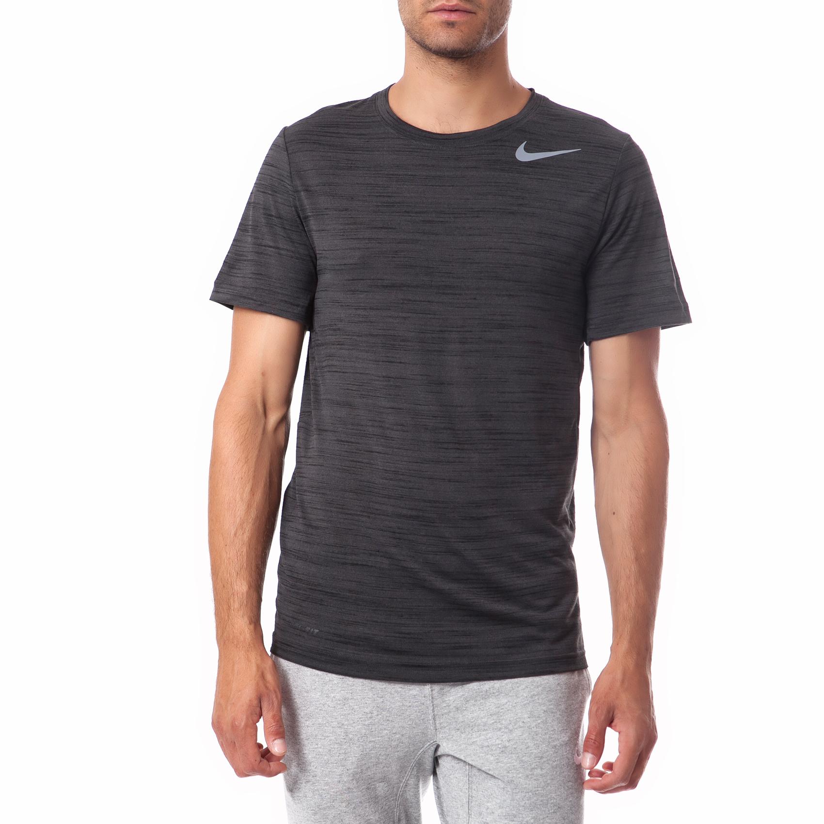 NIKE - Ανδρική μπλούζα Nike μαύρη-γκρι