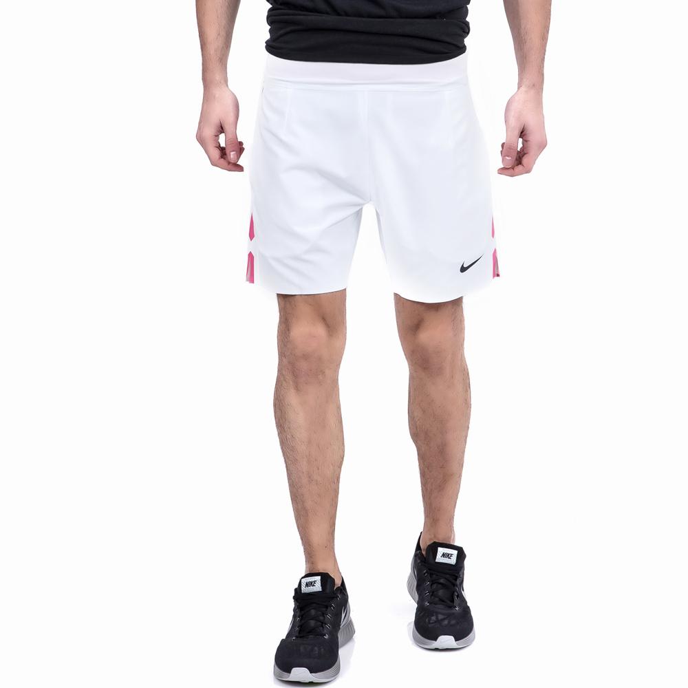 "NIKE - Ανδρικό σορτς τένις GLADIATR PREMIER 7"" Nike λευκό ανδρικά ρούχα σορτς βερμούδες αθλητικά"