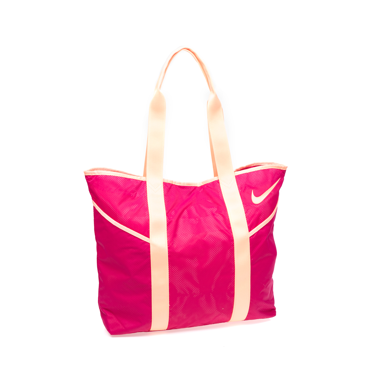 NIKE – Γυναικεία τσάντα ώμου NIKE AZEDA TOTE ροζ-φούξια 1365403.1-F300