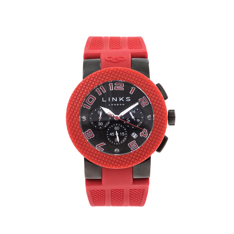 LINKS OF LONDON – Unisex ρολόι SPORT EXCESS LINKS OF LONDON κόκκινο-μαύρο