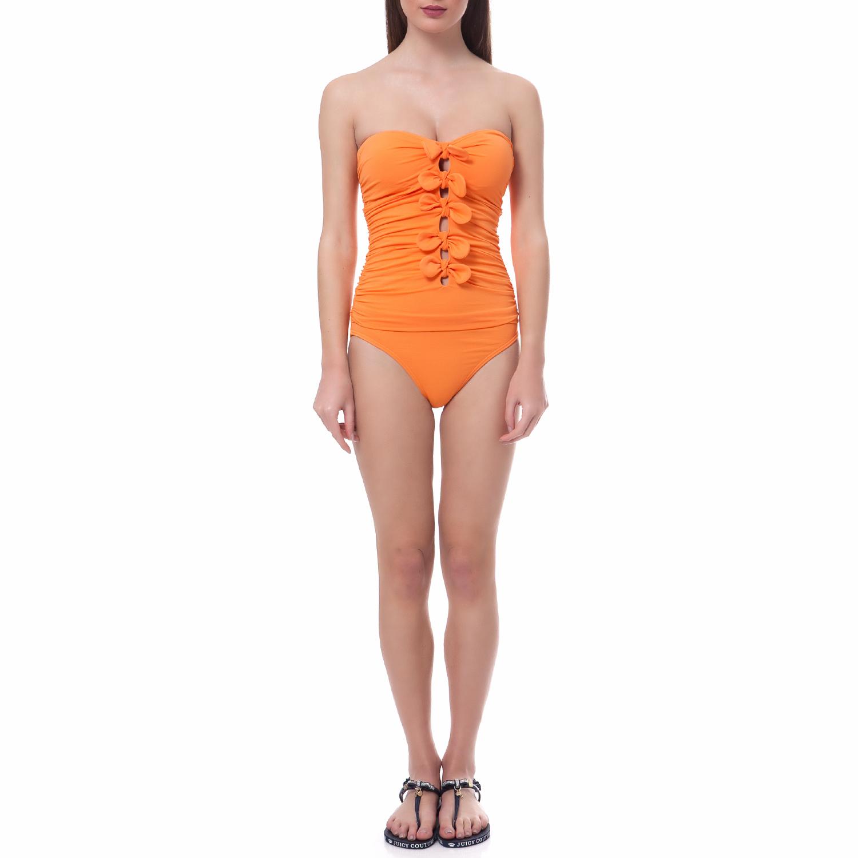 JUICY COUTURE - Ολόσωμο μαγιό Juicy Couture πορτοκαλί γυναικεία ρούχα μαγιό ολόσωμο