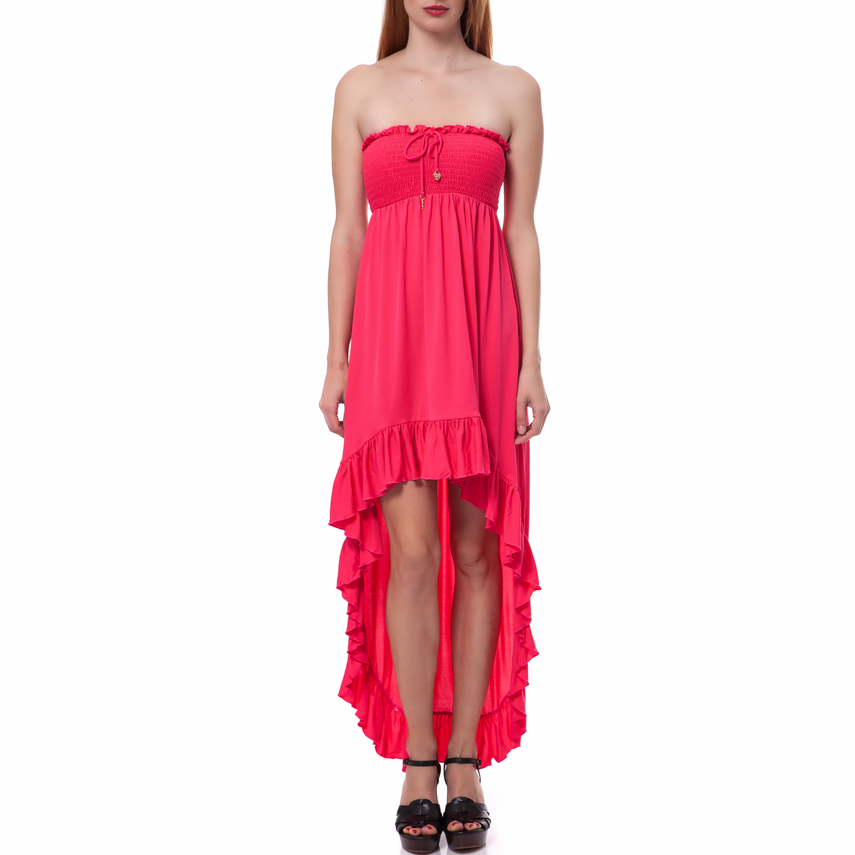 JUICY COUTURE - Γυναικείο φόρεμα Juicy Couture φούξια γυναικεία ρούχα φορέματα μίνι