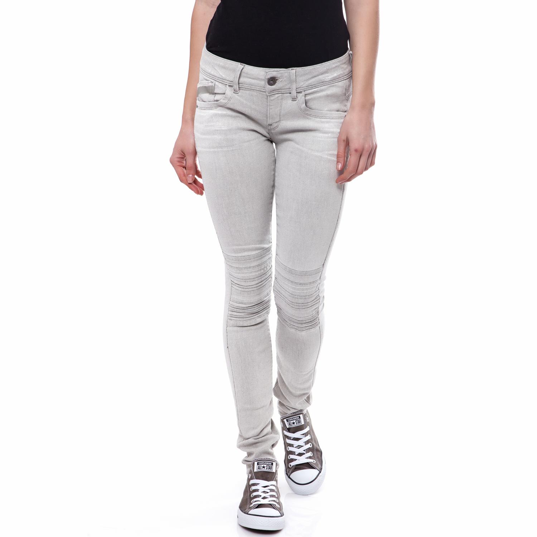 G-STAR RAW - Γυναικείο παντελόνι G-Star Raw γκρι γυναικεία ρούχα παντελόνια casual