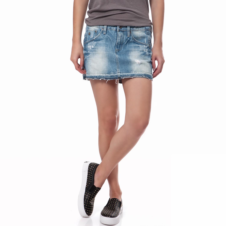 G-STAR RAW - Γυναικεία φούστα G-Star Raw μπλε γυναικεία ρούχα φούστες μίνι