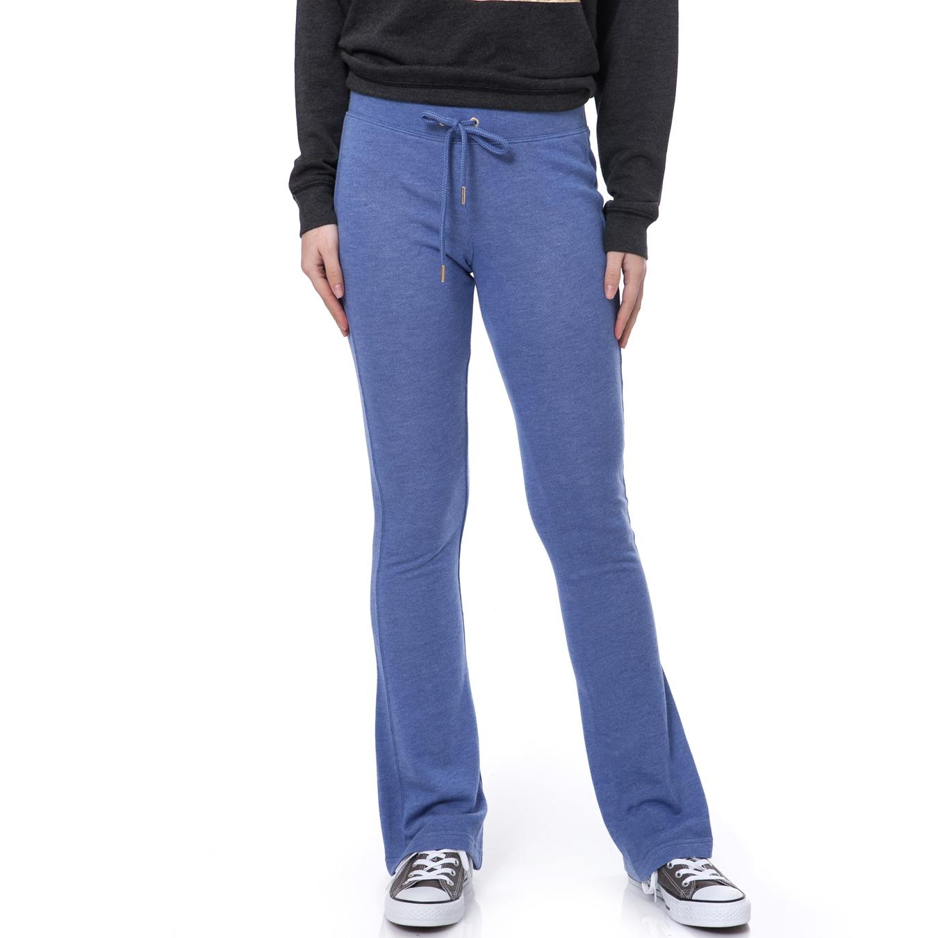 JUICY COUTURE - Γυναικείο παντελόνι Juicy Couture μπλε-μωβ γυναικεία ρούχα παντελόνια φόρμες