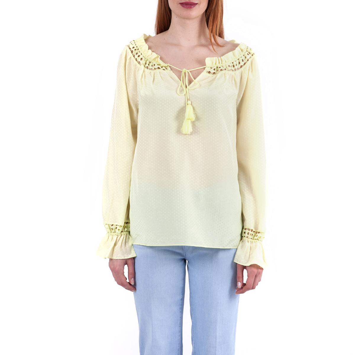 JUICY COUTURE - Γυναικεία μπλούζα Juicy Couture κίτρινη μακρυμάνικη
