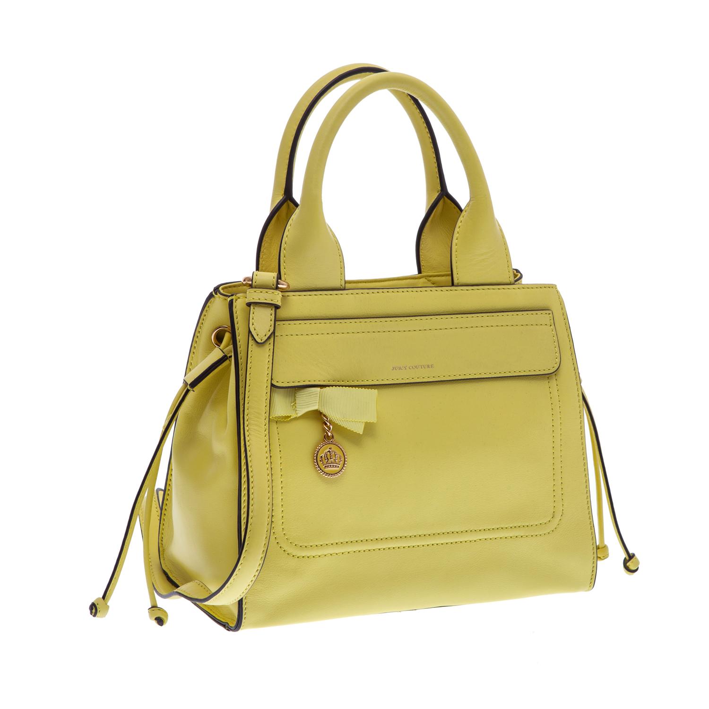 JUICY COUTURE – Γυναικεία τσάντα Juicy Couture κίτρινη 1379421.0-0053