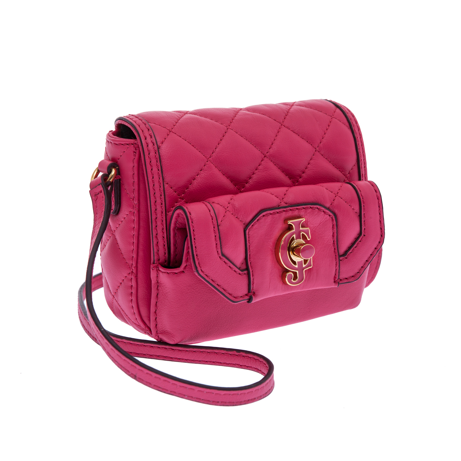 JUICY COUTURE – Γυναικεία τσάντα Juicy Couture φούξια 1379425.0-00F2