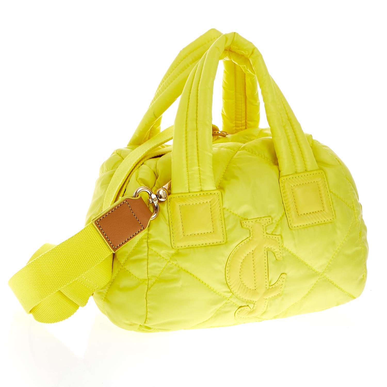 JUICY COUTURE – Γυναικεία τσάντα Juicy Couture κίτρινη 1379443.0-0053