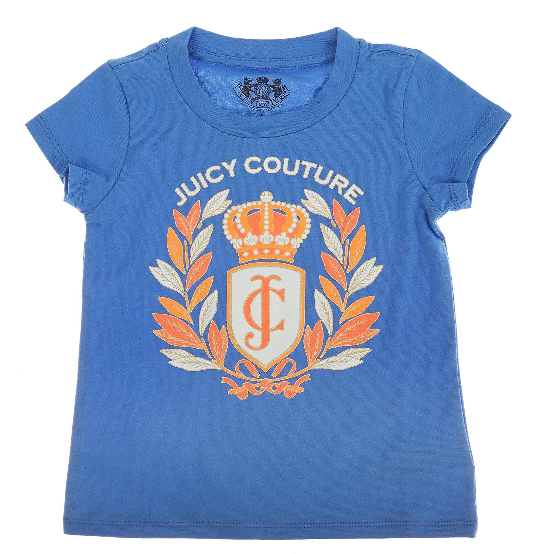 JUICY COUTURE KIDS - Παιδική μπλούζα JUICY COUTURE μπλε