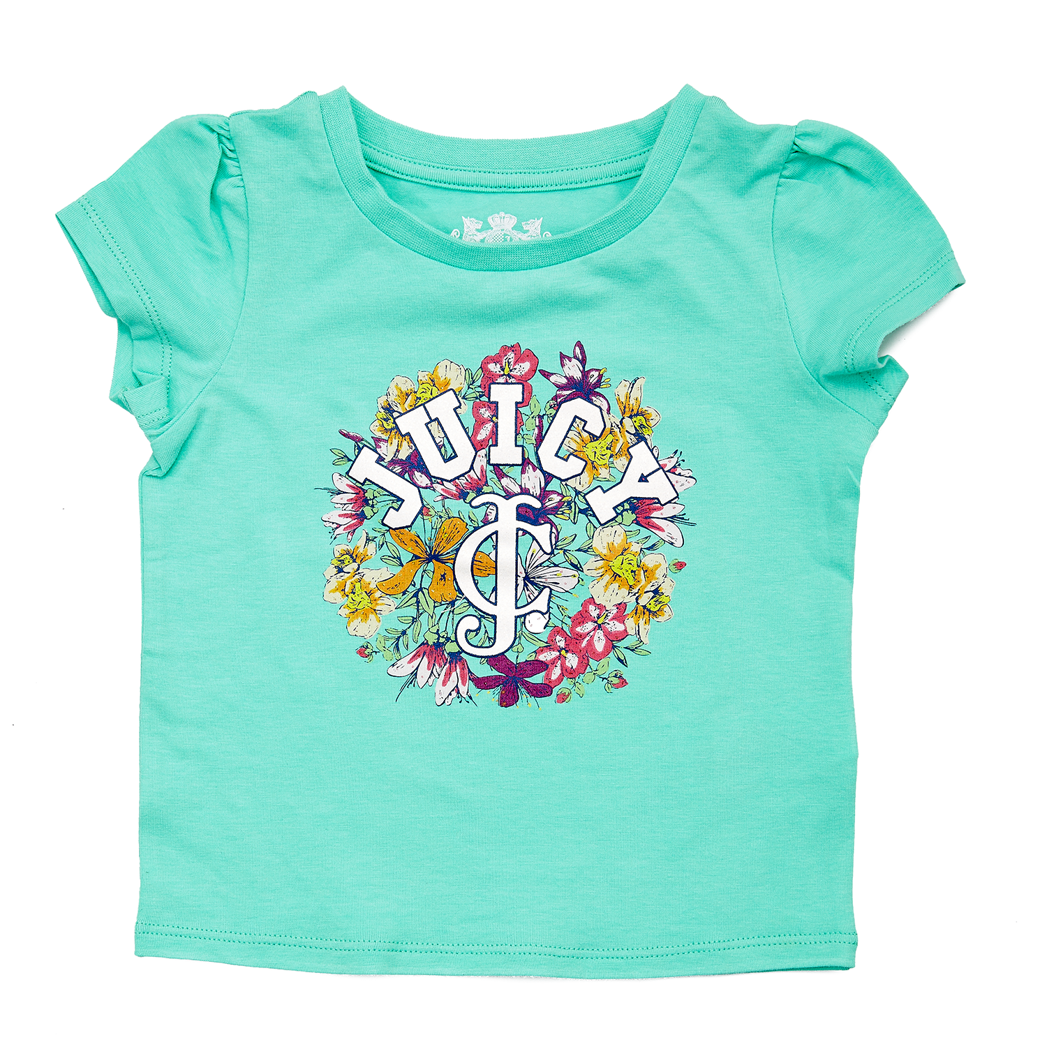 JUICY COUTURE KIDS - Βρεφική μπλούζα JUICY COUTURE πράσινη