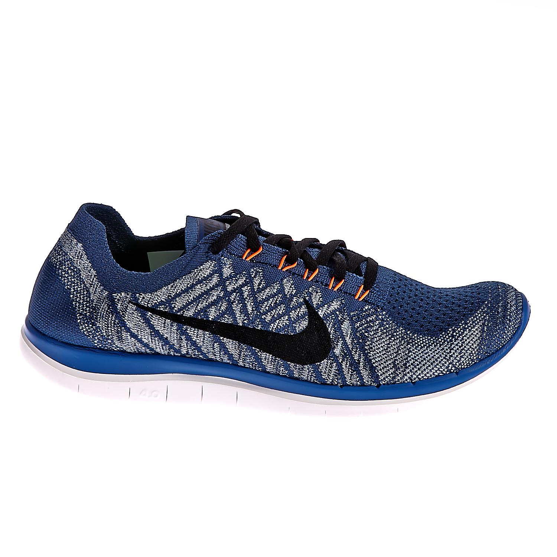 NIKE – Ανδρικά παπούτσια NIKE FREE 4.0 FLYKNIT μπλε