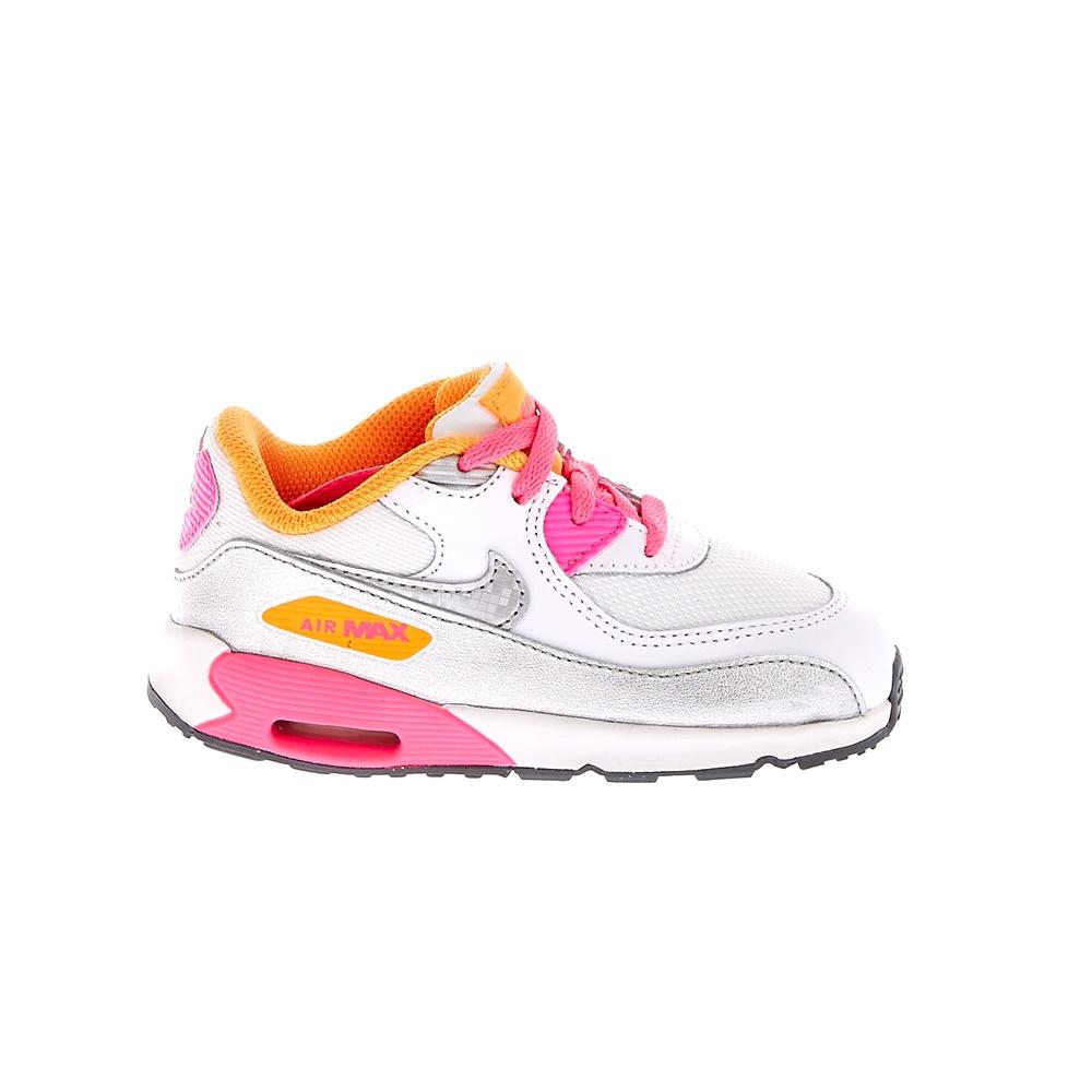 NIKE – Βρεφικά αθλητικά παπούτσια NIKE AIR MAX 90 MESH άσπρα