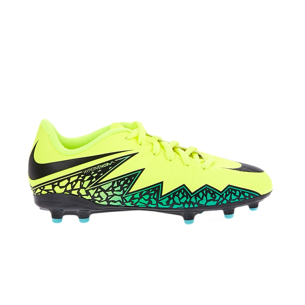NIKE – Παιδικά αθλητικά παπούτσια NIKE JR HYPERVENOM PHELON II κίτρινα