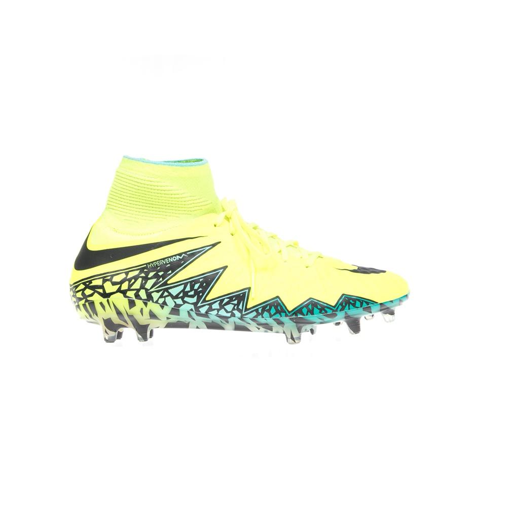 NIKE – Αντρικά αθλητικά παπούτσια NIKE HYPERVENOM PHANTOM II FG κίτρινα