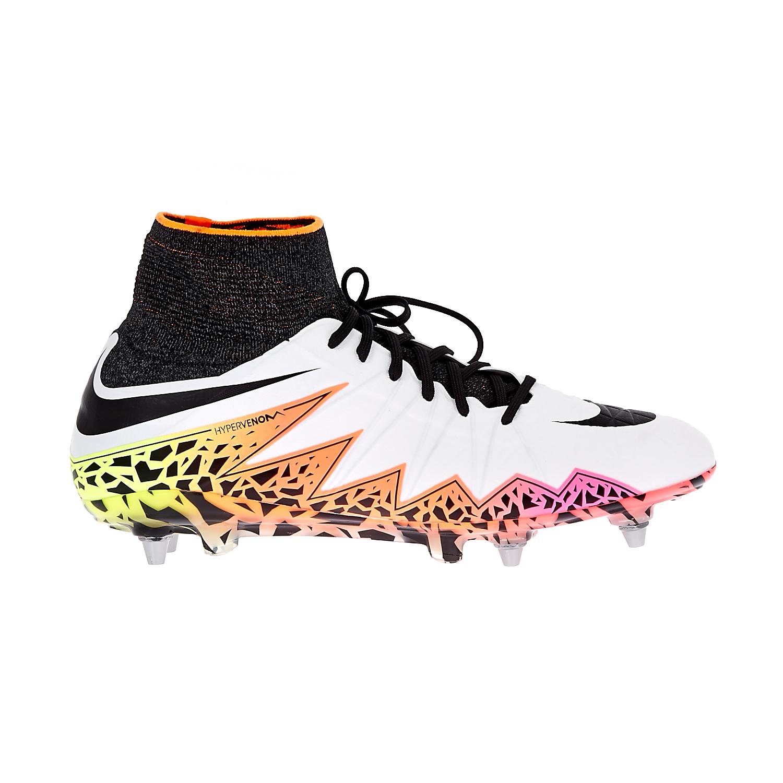 NIKE - Ανδρικά παπούτσια Nike HYPERVENOM PHANTOM II SG-PRO λευκά ανδρικά παπούτσια αθλητικά football