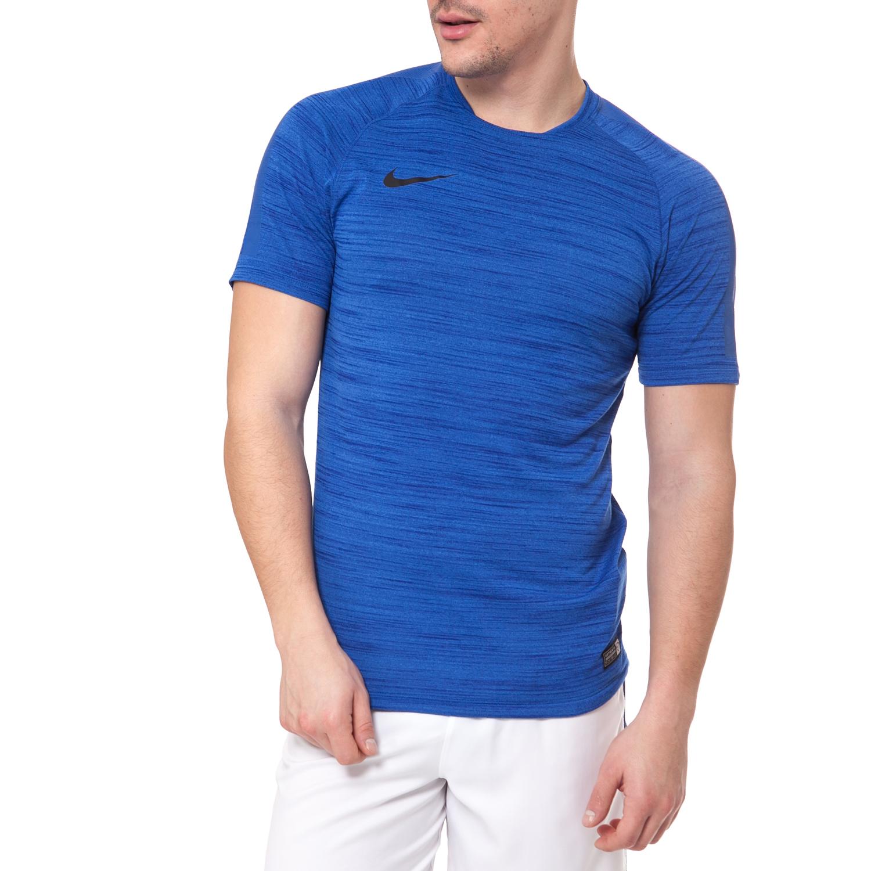 NIKE - Ανδρικό t-shirt Nike FLASH COOL SS TOP μπλε ανδρικά ρούχα αθλητικά t shirt
