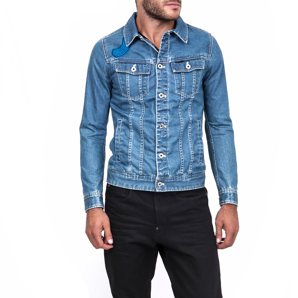 G-STAR RAW - Ανδρικό μπουφάν G-STAR RAW μπλε ανδρικά ρούχα πανωφόρια μπουφάν
