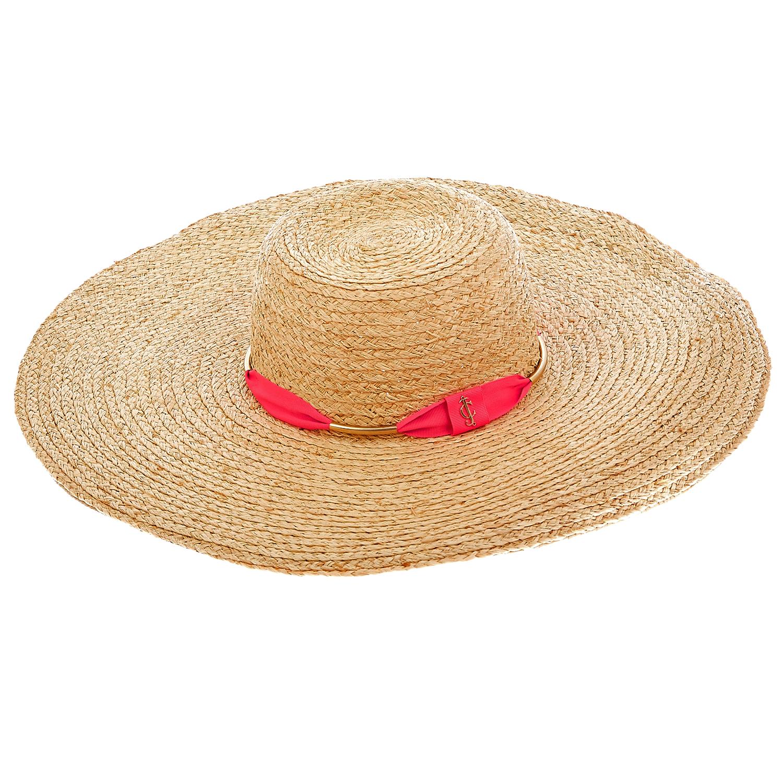 JUICY COUTURE - Γυναικείο καπέλο Juicy Couture μπεζ-ροζ γυναικεία αξεσουάρ καπέλα casual