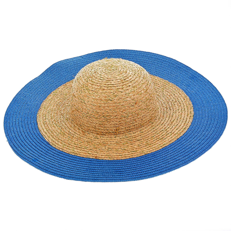 JUICY COUTURE - Γυναικείο καπέλο Juicy Couture μπεζ- μπλε γυναικεία αξεσουάρ καπέλα casual