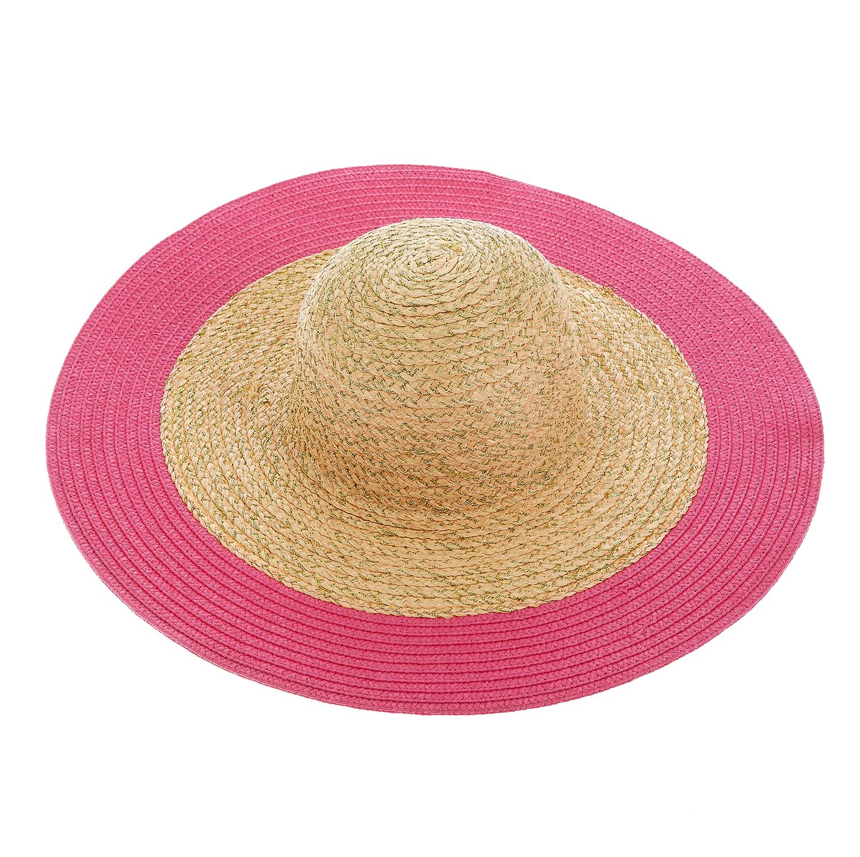 JUICY COUTURE - Γυναικείο καπέλο Juicy Couture μπεζ-φούξια γυναικεία αξεσουάρ καπέλα casual