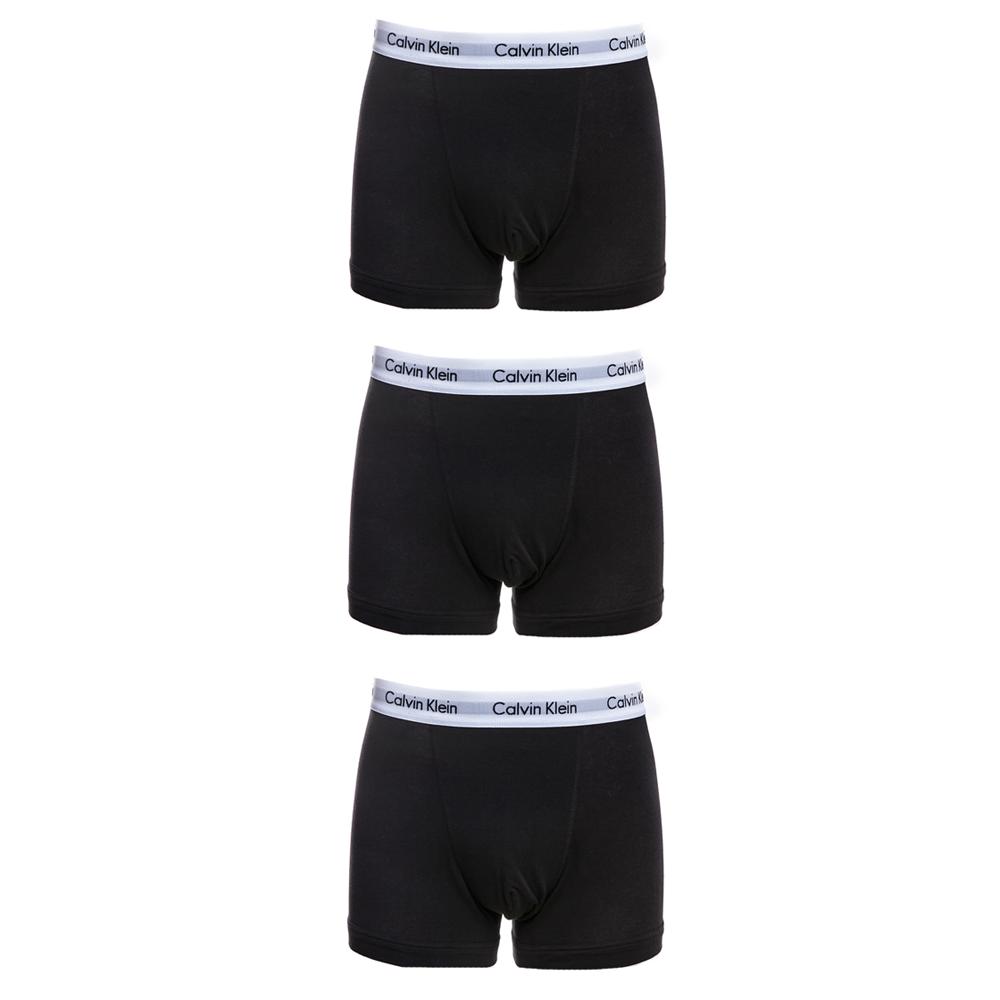 CK UNDERWEAR - Σετ μπόξερ Calvin Klein μαύρα ανδρικά ρούχα εσώρουχα μπόξερ