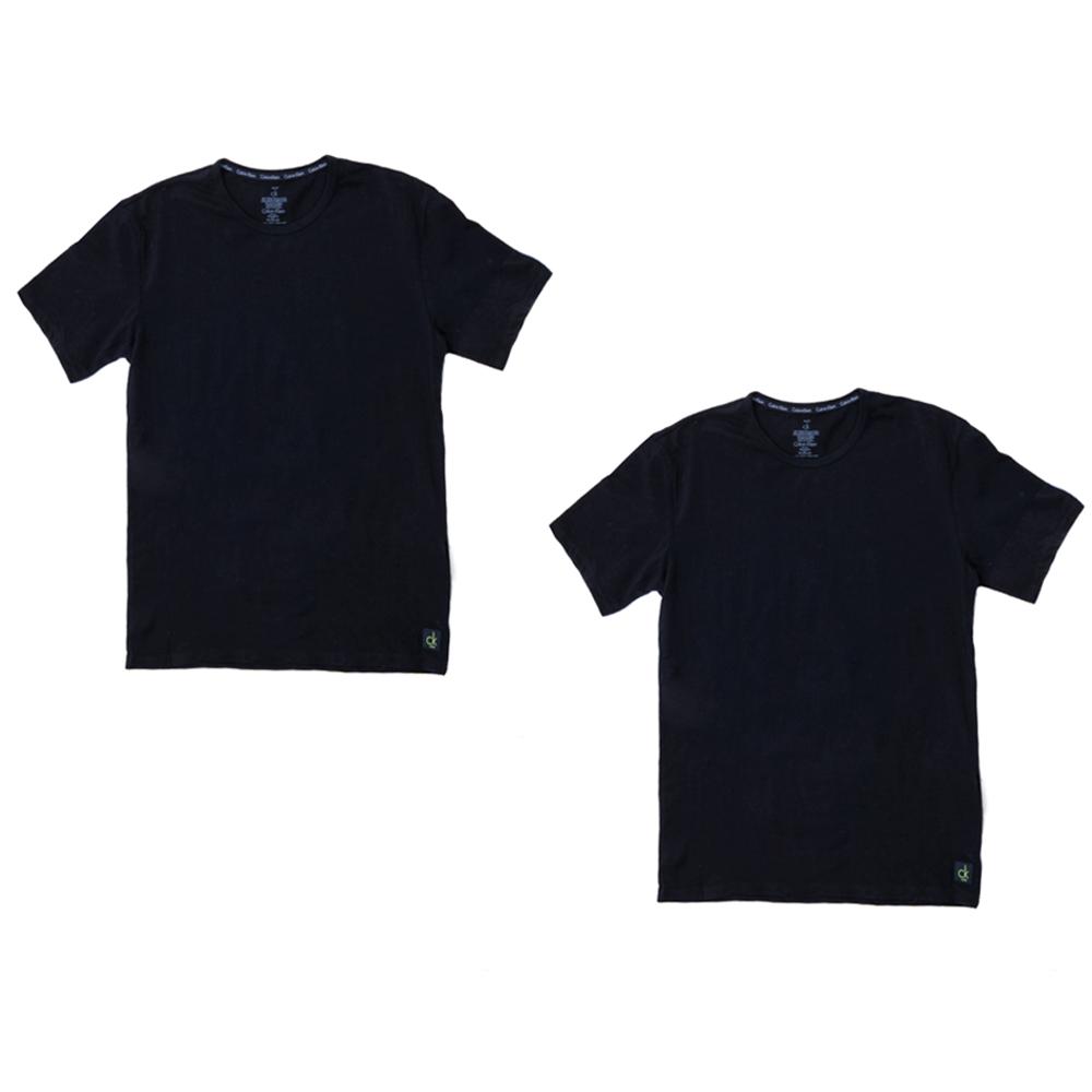 CK UNDERWEAR - Σετ φανέλες Calvin Klein μαύρες ανδρικά ρούχα εσώρουχα φανέλες