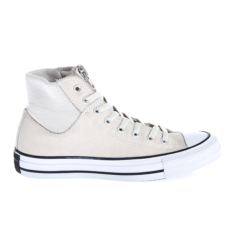 CONVERSE – Unisex παπούτσια Chuck Taylor All Star MA-1 Zip λευκά