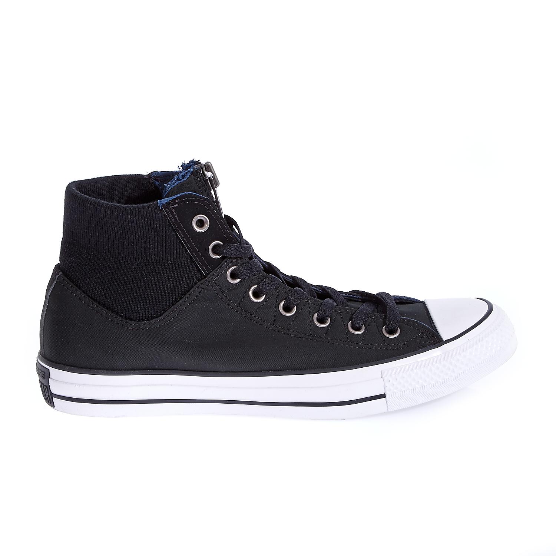 CONVERSE - Unisex παπούτσια Chuck Taylor All Star MA-1 Zip μαύρα γυναικεία παπούτσια sneakers