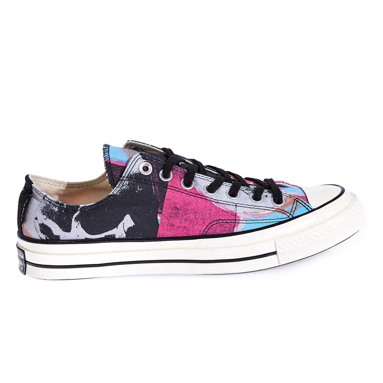 CONVERSE – Unisex παπούτσια Chuck Taylor All Star '70 Warh μαύρα-ροζ